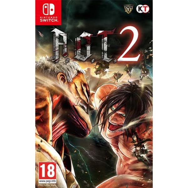 Attack On Titan 2 (A O T) Nintendo Switch Game