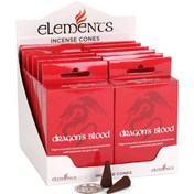 12 Packs of Elements Dragon's Blood Incense Cones