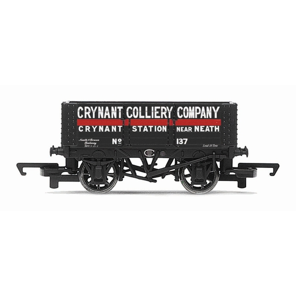 Hornby 6 Plank Wagon Crynant Colliery Company 137 Era 3 Model Train