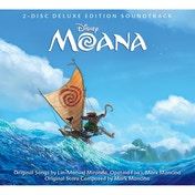 Moana Original Soundtrack 2 CD Deluxe Edition