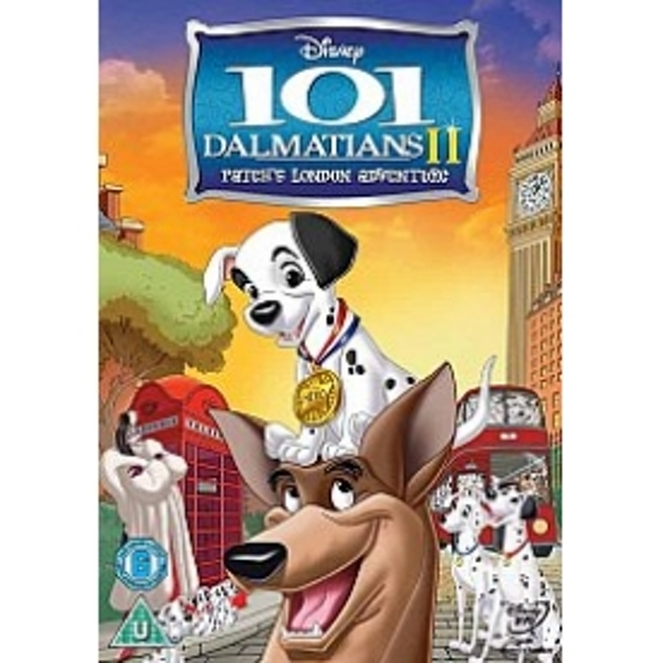 101 Dalmatians II Patches London Adventure DVD