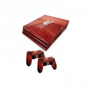 Official Liverpool FC PS4 Pro Console Skin and 2x Controller Skin Combo Pack