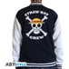 One Piece - Skull Men's XX-Large Hoodie - Navy/White - Image 2