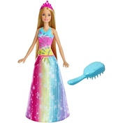 Ex-Display Barbie Dreamtopia Brush n Sparkle Princess Used - Like New
