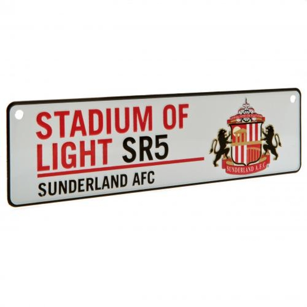 Sunderland AFC Stadium Window Sign