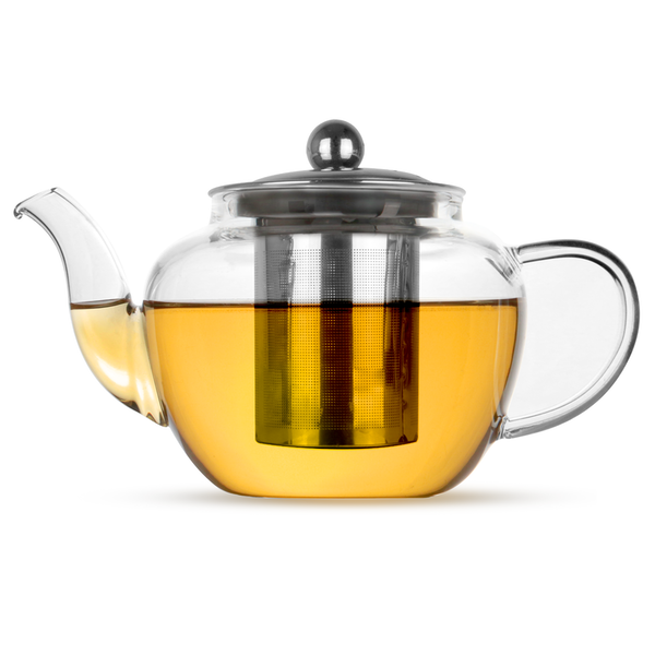 Glass Infuser Teapot | M&W 600ml - Image 1