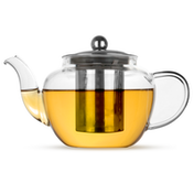Glass Teapot Loose Leaf Tea Infuser | M&W 600ml New
