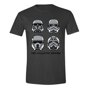 Star Wars Men's Rogue One The Galactic Empire Large T-Shirt