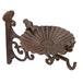 Iron Bird Bath/Feeder | M&W  Wall Mounted - Image 3