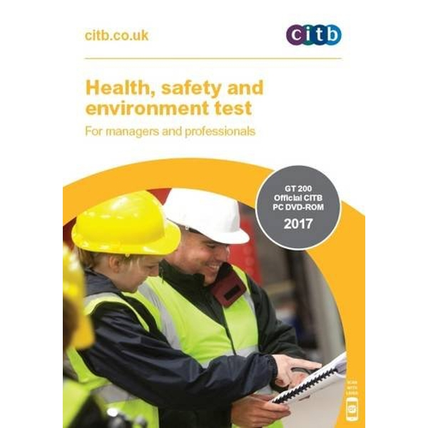 Health, Safety and Environment Test for Managers and Professionals: GT 200/17 DVD  DVD-ROM 2017