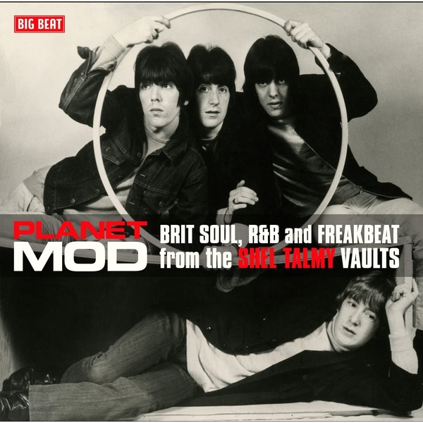 Various ‎– Planet Mod (Brit Soul, R&B And Freakbeat From The Shel Talmy Vaults) Red Vinyl