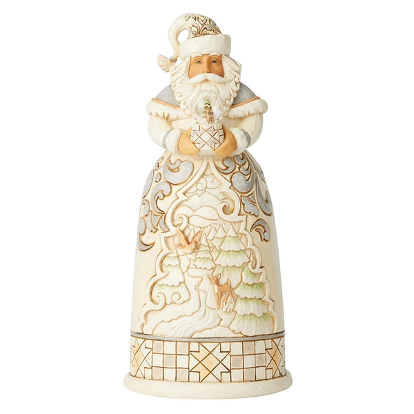 Christmas In The Countryside White Woodland Figurine
