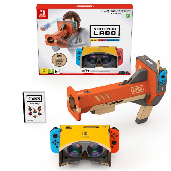 Nintendo Labo Toy-Con 04: VR Kit Starter Set with Blaster for Nintendo Switch