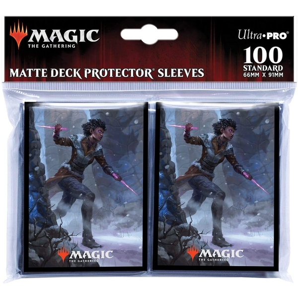 Magic The Gathering: Kaldheim featuring Kaya the Inexorable Card Sleeves - 100 Sleeves