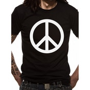 Cid Originals - Peace Symbol Men's Small T-Shirt - Black