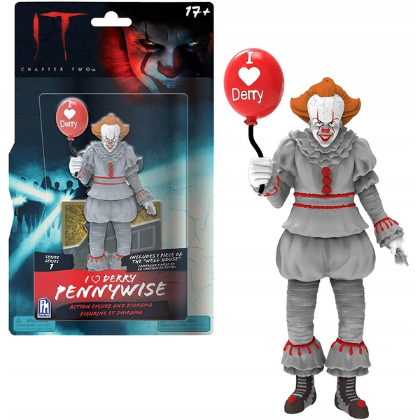 """IT 5"""" Action Figure - I Heart Derry Pennywise"""