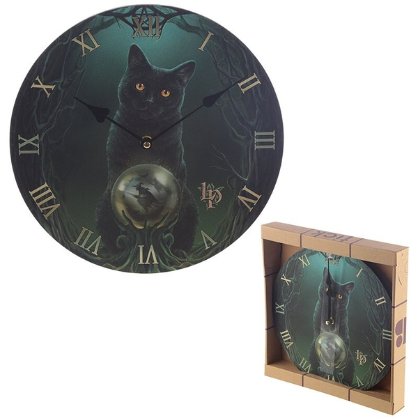Rise of the Witches Lisa Parker Wall Clock