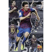 Barcelona Messi Collage 11/12 Maxi Poster