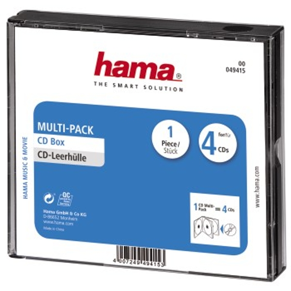 Hama CD Multi-Pack 4