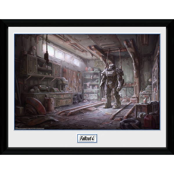 Fallout 4 Red Rocket Interior Collector Print