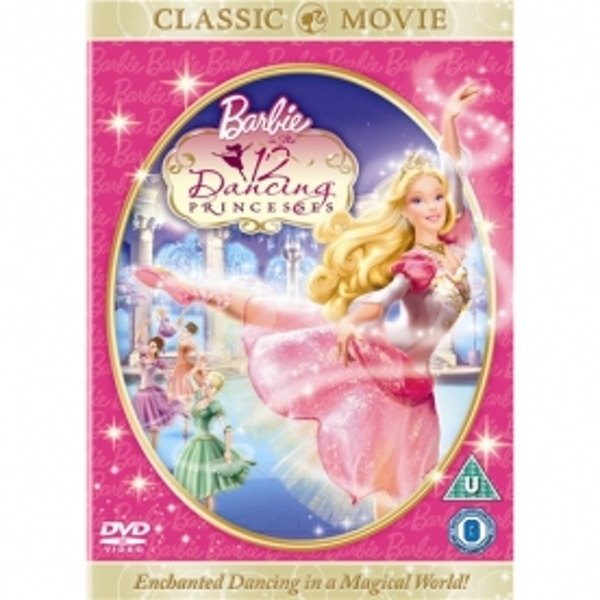 Barbie In The 12 Dancing Princesses DVD