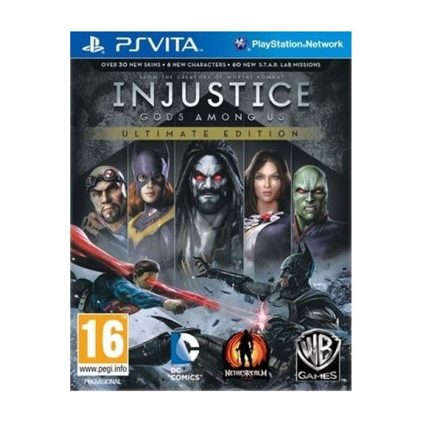 Injustice Gods Among Us Ultimate Edition Game Of The Year (GOTY) Game PS Vita - Image 1