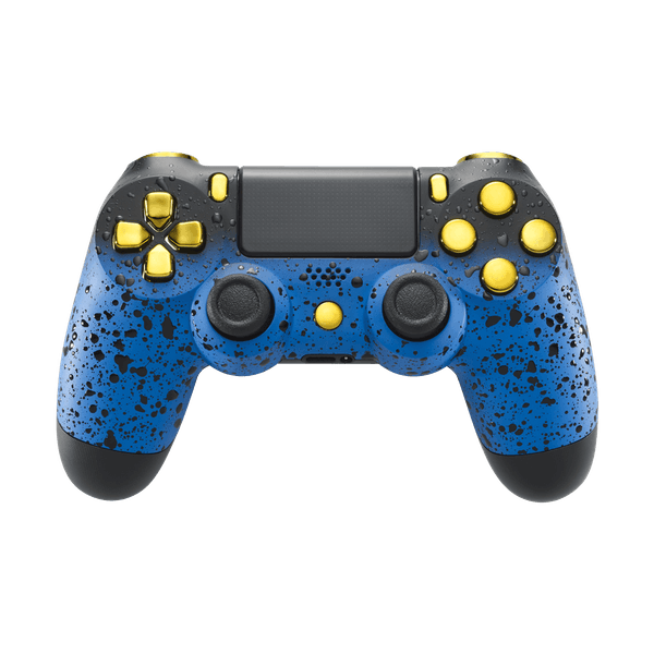 Image of PlayStation 4 Controller - 3D Blue Shadow Edition - Custom Controller
