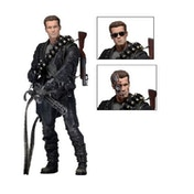"Neca Terminator 2 7"" Action Figure Ultimate Terminator [Damaged Packaging]"