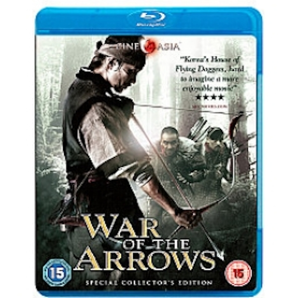War Of The Arrows Blu Ray