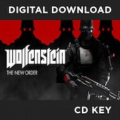 Wolfenstein The New Order PC CD Key Download for Steam