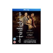 The Twilight Saga Quad Pack Blu-ray
