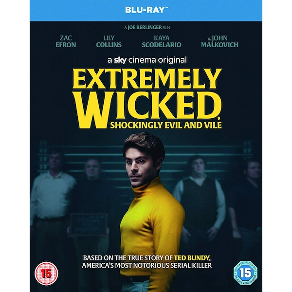Extremely Wicked, Shockingly Evil and Vile Blu-ray