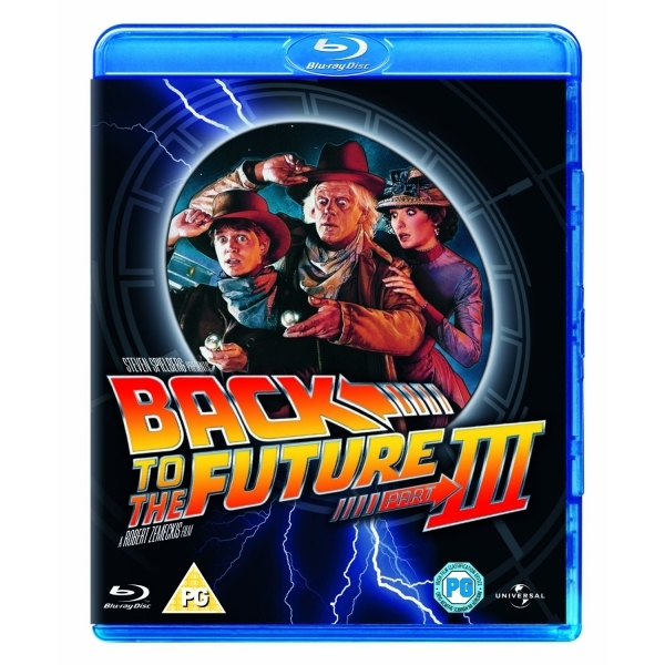 Back To The Future Part 3 III Blu-ray