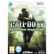 Call Of Duty 4 Modern Warfare Reflex Edition Game Wii