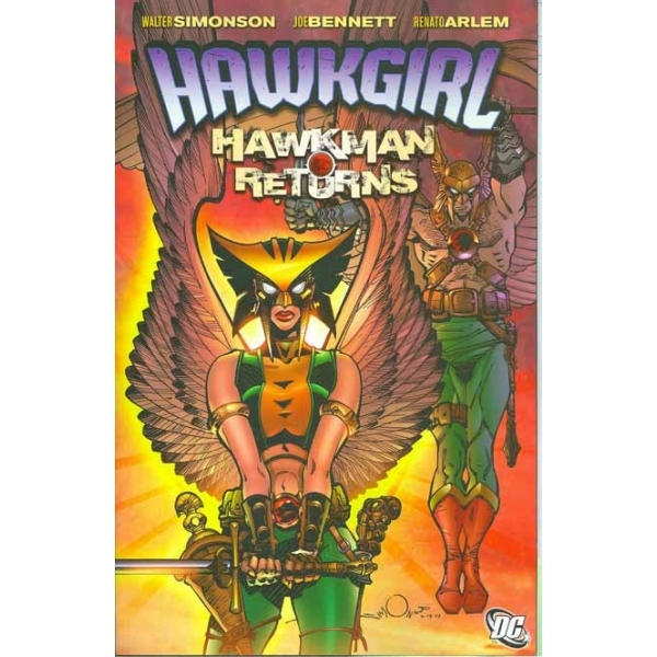 Hawkgirl Hawkman Returns TP