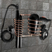 Wall Mounted Hair Dryer & Straightener Holder | Pukkr Rose Gold - Image 2