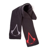 Assassin's Creed Unisex Red/Grey Brotherhood Crest Logos Scarf