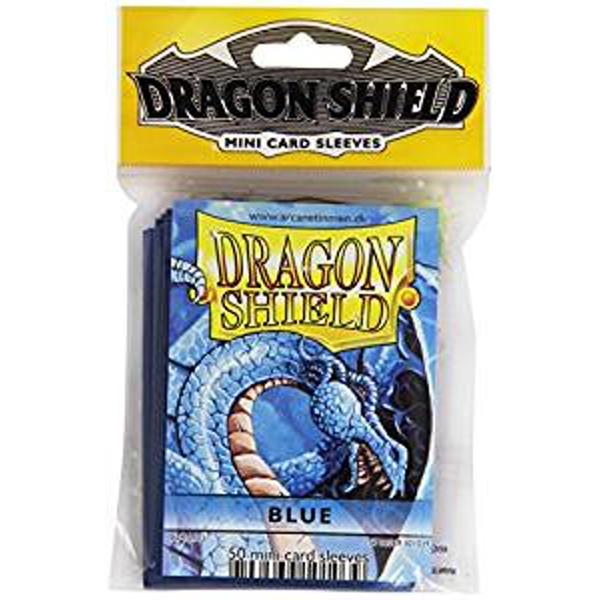 Dragon Shield Japanese size - Blue 50 Sleeves (10 Packs)