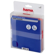 Hama CD/DVD Protective Sleeves 50, coloured