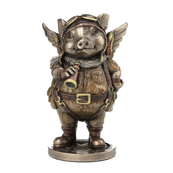 Porcus Machina Pilot Pig Figure