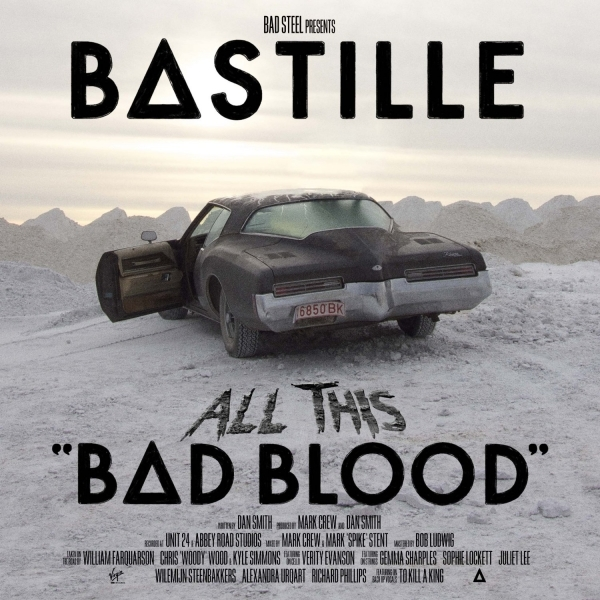 Bastille All This Bad Blood CD