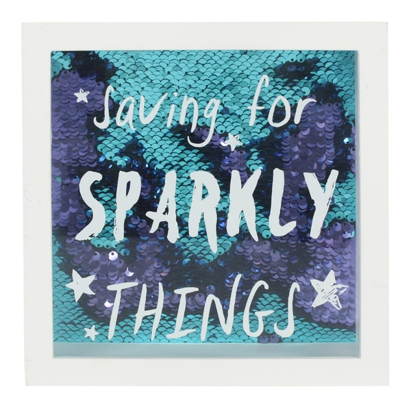 Saving For Sparkly Things Money Box