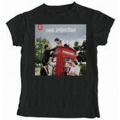 One Direction Take Me Home Skinny Black T-Shirt X Large
