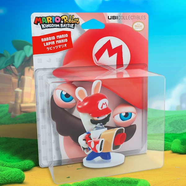 Mario and Rabbids Kingdom Battle Rabbid Mario 3 inch - Image 5