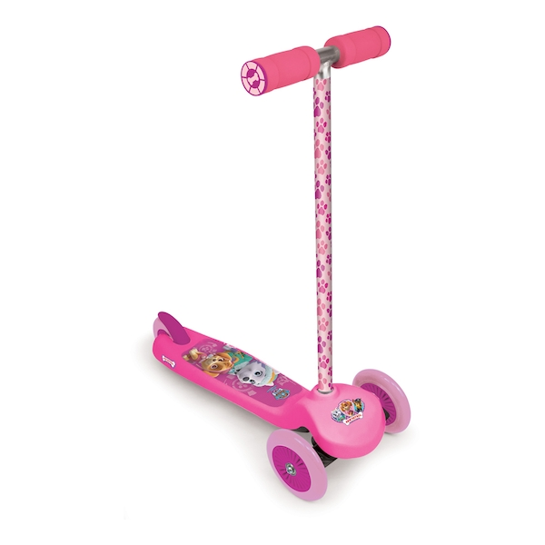 Paw Patrol - Kid's Three Wheel Flex Skye Scooter (Pink)