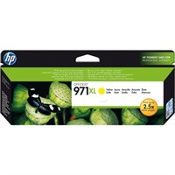 HP CN628AE (971XL) Ink cartridge yellow, 6.6K pages, 83ml