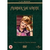 Murder She Wrote Complete Series 10 DVD
