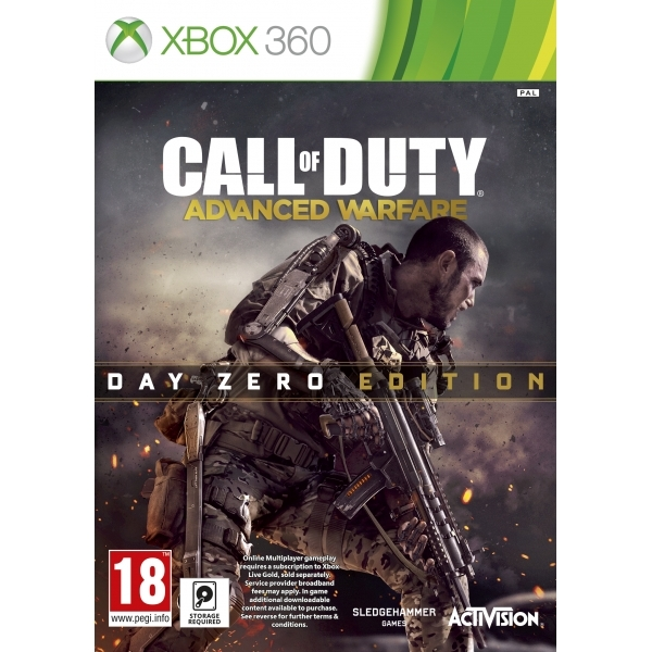 Ex-Display Call Of Duty Advanced Warfare Day Zero Edition Xbox 360 Game Used - Like New