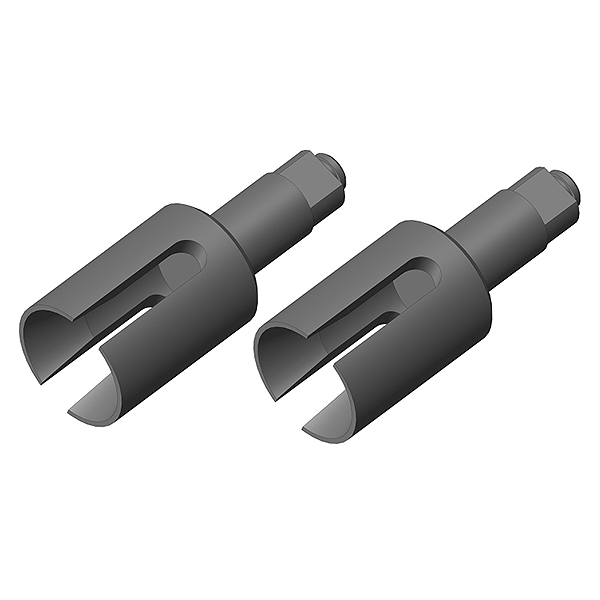 Corally Diff Outdrive Cup Steel 2 Pcs