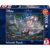 Ex-Display Thomas Kinkade Disney Rapunzel 1000 Piece Jigsaw Puzzle Used - Like New
